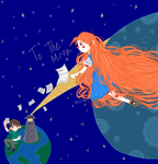 To The Moon by Vris-Xx