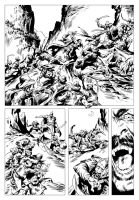 DRACULA SAMPLES - page 1 inks by benitogallego
