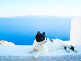 Blue Greek Summer by samnouvelle