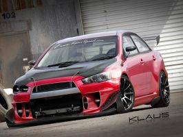 EVO X .::. Timeattack by Klaus-Designs