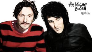 The Mighty Boosh by mazziemogwai