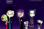 A ZaDr Comic- front cover by I-Luv-Emoboys