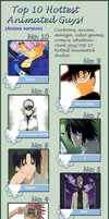 My Top 10 Hottest Anime Guys by KessieLou