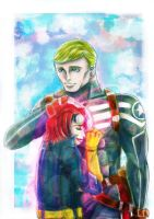 Cap and Nomad by vivian-girl