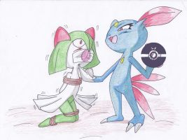 Time to play Kirlia by Reimon-Master-II