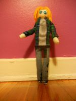 Kurt Cobain Doll by worldsamess