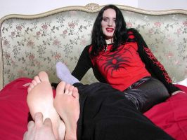 Gothic Soles tickled 2 by jason9800player2