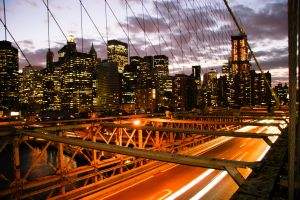 view from brooklyn bridge by onon