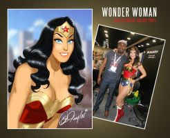 Valerie Perez Inspired Wonder Woman by DESPOP