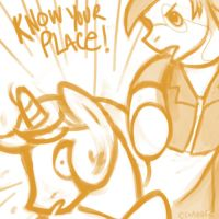 Commission - Know Your Place! by clorinspats
