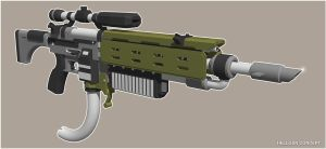 Hellgun Concept by mrmao