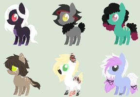 10 Point Pony Adopts 002 by PonPon-Adopts