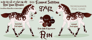 9742 BuD's Eternal Summer - foal design by GuardianOfJay