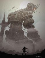 shadow of the colossus by aletsander