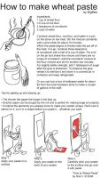 How to Graffiti, wheat paste. by Big-Mex