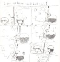 leon and lexion childhood comic : 1 by demonxslayer12