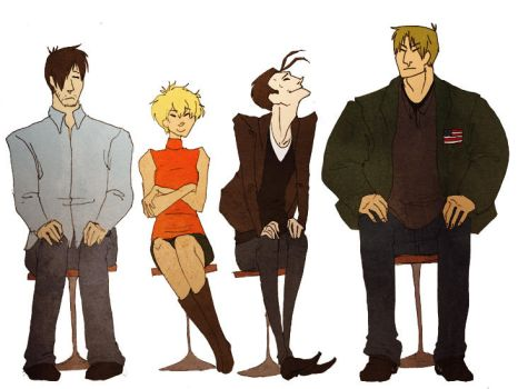 Protagonists by Stumppa