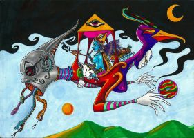 ASCENSION TO HEAVEN by Acid-Flo