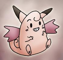 Clefable by ShapelyMan