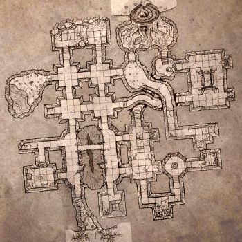 Small Dungeon Level. by billiambabble