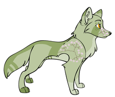 Wolf Adoptable 1 CLOSED by splitAdopts