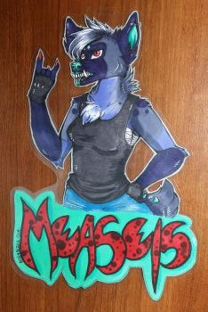 Measels Badge by AliceAlexia