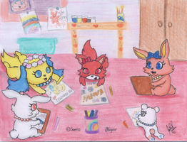 jewelpets Drawing by davidcool1989