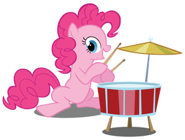 Pinkie Rocks! by nrxia