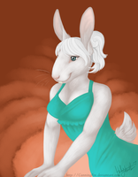 Bunny Lady by CunningFox
