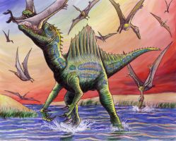 Spinosaur by EWilloughby