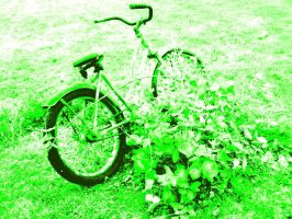 Old Bike No. 1 by Tusuami