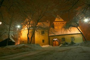 castle in Nidzica by 77photons