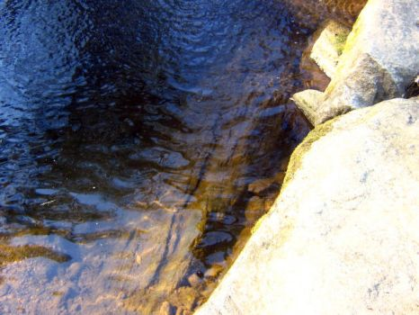 Water with a Side of Rock by IvyPhotography