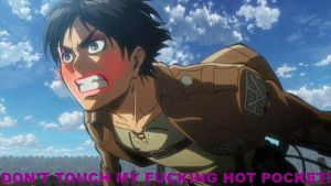Attack on FASHION!- Eren : Hot Pockets by QueenOfCuteChibis