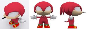 Chibi Knuckles by andril