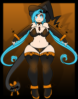 Halloween Ally Reference by TehButterCookie
