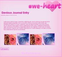 We heart - journalskin vers. 1.1 by 3K-more