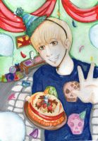 HAPPY BIRTHDAY TO EUNHYUKKIE by CheekyFlower