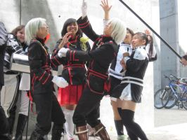 D.gray-man Silly Poses 1 by TheSapphireDragon1