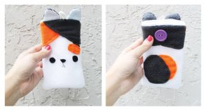 Calico Phone Pouch by CosmiCosmos