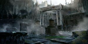 Ancient ruins by ldimonl
