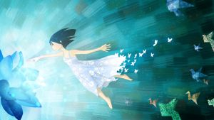 Butterfly Girl by cling17