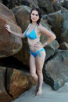 Rommley - blue bikini 1 by wildplaces