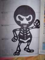 lil skelly by markcrossey