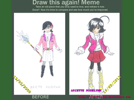 Draw This Again - Ariette by TeeOfTeeJay