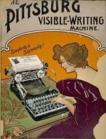 Pittsburg Visible Writing Machine by peterpulp