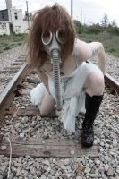 Untitled Gas Mask by SSunshinePhotography