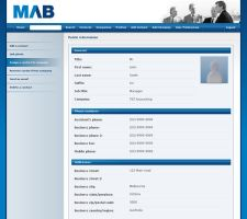 MAB Corporate Address Book by nalhcal
