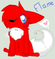 This be Flame. by x-DesuYo