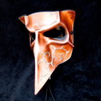 Copper Bauta Mask by TasteOfCrimson